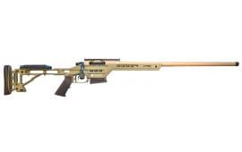"MasterPiece Arms 308BALITE Bolt Action Lite 308 Win/7.62 NATO 20"" 3+1 Adjustable Brown Cerakote/Black Phosphate"