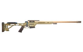 """MasterPiece Arms 65BALITE Bolt Action Lite 6.5 Creedmoor 22"""" 3+1 Magpul CTR/Aluminum Chassis Flat Dark Earth Tan"""