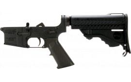 DPMS LR05PS Assemble Lower Pardus Stock AR-15 Platform Black Hardcoat Anodized