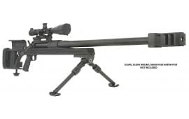 "Armalite 50A1B AR 50BMG Bolt 50 Browning Machine Gun (BMG) 30"" 1 Aluminum Stock Black Hard Coat Anodized/Phosphate"