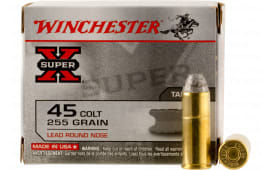 Winchester Ammo X45CP2 Special Buy Super-X 45 Colt (LC) 255 GR Lead Round Nose - 20rd Box