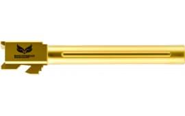 "S3F G34FTIN Glock 34 9mm 5.3"" Gold"