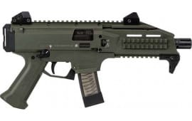 CZ USA 01355 Scorpion EVO 3 S1 1/2X28 THRD ODG 10rd