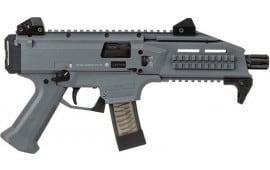 CZ USA 01356 Scorpion EVO 3 S1 1/2X28 Battle Gray 10rd
