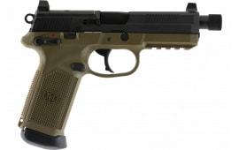 FN 66100352 FNX45 45 TAC MS NS 15R FDE/BLK LE