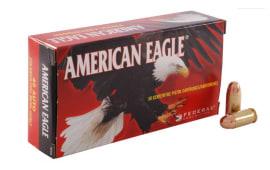 American Eagle .45 ACP 230gr FMJ Ammo, AE45A - 50rd Box