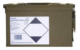 Global - ADI F1 5.56X45 62gr FMJ Ammunition - Brass-Cased, Boxer-primed, Non-Corrosive and Reloadable - ADI556 - 900