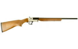 "Hatfield USH410YW SGL Youth Break Open 410GA 20"" 3"" Walnut Stock Silver"