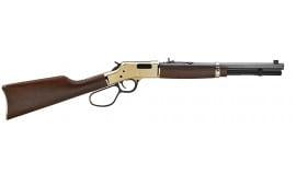 """Henry H006MR327 Big Boy Carbine Lever 327 Federal Magnum 16.5"""" 7+1 American Walnut Stock Blued Barrel/Brass Receiver"""