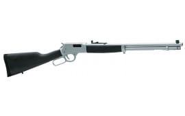 "Henry H012MAW Big Boy Steel Lever 357 Magnum/38 Special 20"" 10+1 American Walnut Stock Blued"