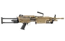 """FN 56502 M249S Para Semi-Auto .223/5.56 NATO 16.1"""" 30+1 Telescoping Flat Dark Earth"""