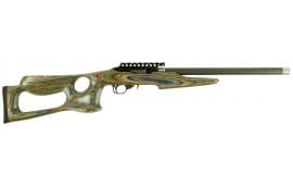 "Magnum Research MLR22BFC Magnum Lite Barracuda Semi-Auto 22 LR 17"" 10+1 Laminate Camouflage Stock Black"