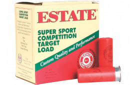 "Estate SS12H1 Super Sport Target 12 GA 2.75"" 1oz #9 Shot - 250sh Case"