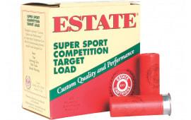 "Estate SS12H Super Sport Target 12GA 2.75"" 1-1/8oz #7.5 Shot - 250sh Case"
