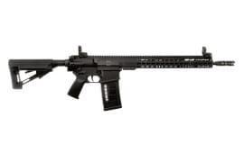 "ArmaLite AR-10 Tactical Rifle Semi-Auto 308 Winchester/7.62 NATO 16"" FS Pinned/Welded MBUS 25+1 Magpul STR Hard Coat Anodized"