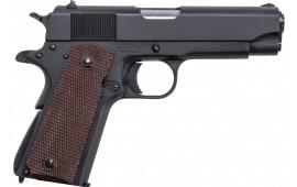 "Thompson 1911BKOC 1911 Commader Single 4.25"" 7+1 Brown Polymer Grip Black"