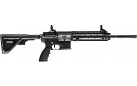 """Heckler and Koch 81000402 HK416 Rifle .22LR 16.1"""" Barrel 10rd M-LOK Black BY Umarex"""