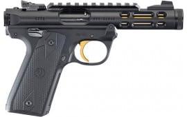 Ruger 43927 MKIV 22/45 Lite 4.4 10R TB Black