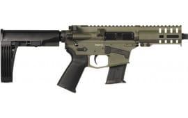 """CMMG 57A18CDOD Banshee Pistol 5"""" 20rd OD Green M-Lok Brace"""