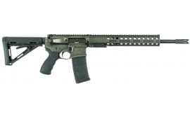 """DRD Tactical CDR15BW300 CDR-15 Quick Break Down Semi-Auto 300 AAC Blackout/Whisper (7.62x35mm) 16"""" 20+1 Magpul MOE Battle Worn"""