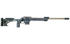 "MasterPiece Arms 6MMBA Bolt 6mm Creedmoor 24"" 10+1 Aluminum Black Cerakote"
