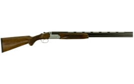 "Barrett Sovereign 91228 Rutherford Over/Under 12 GA 28"" 3"" Walnut Stock Engraved Steel Rcvr/Blued Barrel"