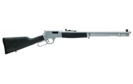 "Henry H012AW Big Boy All Weather Lever 44 Magnum 20"" 10+1 Hardwood Chrome"