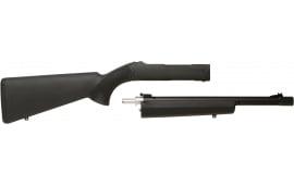 """Tactical Solutions TD102204HBLK Ruger 10/22 Takedown 22 Long Rifle 16.5"""" OD Green/Black Fiber Optic Front, Adjustable Rear"""