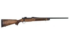 "Mossberg 27985 Partiot Revere Bolt 270 Winchester 24"" 5+1 Walnut Stock Blued"