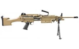 "FN 56501 M249S Standard Bolt .223/5.56 NATO 18.5"" 30+1 Synthetic Flat Dark Earth Stock Flat Dark Earth"