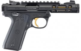 Ruger 43927 MKIV 22/45 Lite 4.4 10rd TB Black