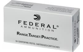 Federal RTP9115 9mm 115 FMJ RNGTRT - 50rd Box