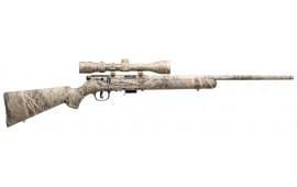 "Savage 90755 93 XP Camo Brush with Scope Bolt 22 WMR 22"" 5+1 Synthetic Mossy Oak Brush Stock Mossy Oak Brush"