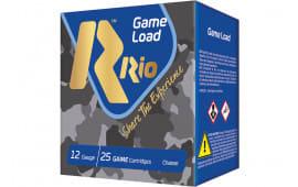 RIO Ammunition SG3275 12 2.75 11/8OZ Supgame HV - 250sh Case