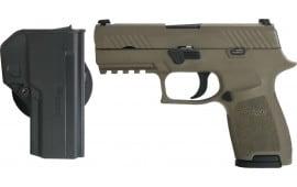 "Sig Sauer 320C-9-BSS-COY P320 Compact 3.9"" 15rd"