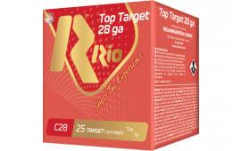 RIO Ammunition Ammunition Ammunition RC2875 28 2.75 3/4OZ TRGT - 250sh Case