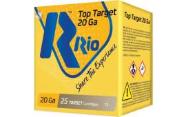RIO Ammunition Ammunition Ammunition TT2075 20 2.75 7/8OZ TRGT - 250sh Case
