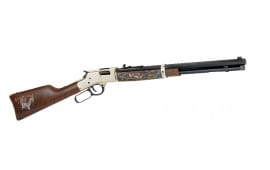 "Henry H006WL2 Big Boy Wildlife Edition II Lever 44 Magnum 20"" 10+1 American Walnut Stock Blued Barrel/Brass Receiver"
