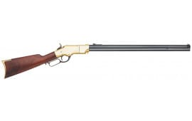 """Taylors and Company 288 1860 Henry Lever Action 45 Colt (LC) 24.25"""" 13+1 Walnut Stock Blued Barrel/Brass Receiver"""