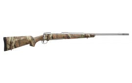 "Savage 19152 16/116 Bear Hunter Bolt 338 Win Mag 23"" 3+1 Accustock Mossy Oak Break-Up Infinity Stock Stainless Steel"