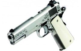 Dan Wesson 01804 Heirloom 2021 45 BRS BD SS/BONE 8rd