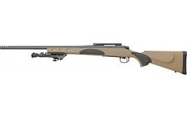 Remington R84376 700 VTR 22 FDE Stock TAC BLT KB Bipod