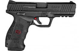 SAR USA SAR9CBL15L SAR9 CMPT Black 15rd