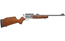 "Rossi SCJ4510SS Circuit Judge DA/SA 45 Colt (LC)/410GA 18.5"" 5+1 Hardwood Stock Stainless Steel"