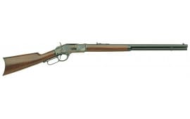 "Taylors and Company 200F 1873 Sporting Lever 357 Mag 20"" 10+1 Walnut Stock Blued Barrel/Case Hardened Receiver"