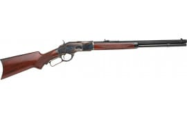 """Taylors and Company 2012 1873 Taylor''s Trapper Lever 357 Magazine 18"""" 10+1 Walnut Pistol Grip Stock Blued Barrel/Color Case Hardened Receive"""