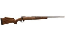 """Savage 19656 11/111 Lady Hunter Bolt 7mm-08 Rem 20"""" 4+1 Walnut Oil Finish Stock Black"""