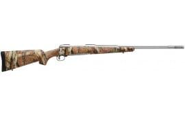 "Savage 19639 16/116 Bear Hunter Bolt 375 Ruger 23"" 3+1 Accustock Mossy Oak Break-Up Infinity Stock Stainless Steel"