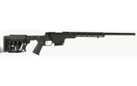 "Howa HMAC70622 Mini Action Rifle Bolt 20"" Heavy TB 5+1 Luth-AR MBA-3/Aluminum Chassis Black"