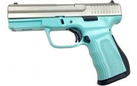 FMK Firearms G9C1G2TBSS 9C1 G2 FAT 4 NMS Robins EGG Silver